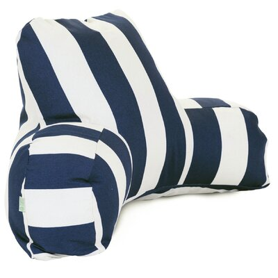 Dazelle Indoor/Outdoor Bed Rest Pillow Color: Navy Blue