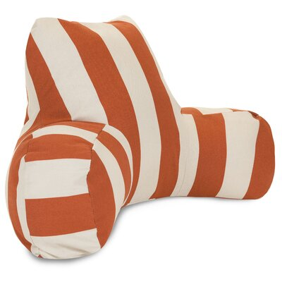 Mufeeda Indoor/Outdoor Bed Rest Pillow Color: Burnt Orange