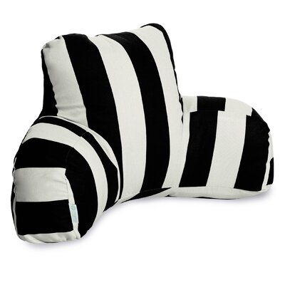 Dazelle Indoor/Outdoor Bed Rest Pillow Color: Black