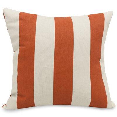 Dazelle Indoor/Outdoor Throw Pillow Fabric: Burnt Orange, Size: Extra Large