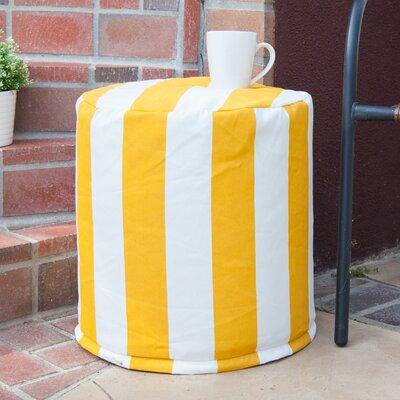 Brino Ottoman Fabric: Yellow