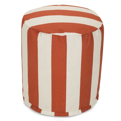 Dazelle Ottoman Fabric: Burnt Orange