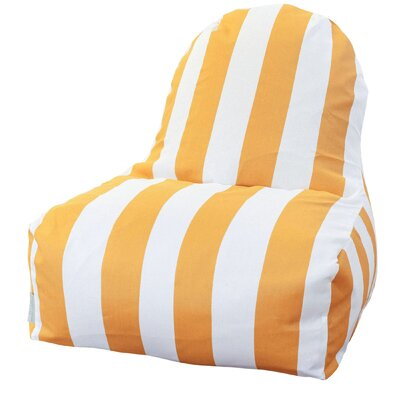 Brino Bean Bag Lounger Upholstery: Yellow