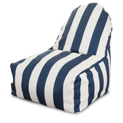 Brino Bean Bag Lounger Upholstery: Navy Blue