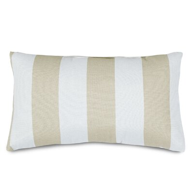 Mufeeda Indoor/Outdoor Lumbar Pillow Color: Sand