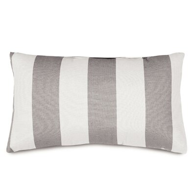 Mufeeda Indoor/Outdoor Lumbar Pillow Color: Gray