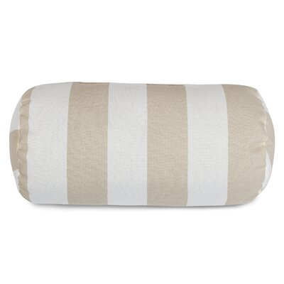 Brino Indoor/Outdoor Round Bolster Pillow Color: Sand