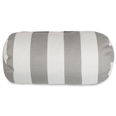 Mufeeda Indoor/Outdoor Round Bolster Pillow Color: Gray