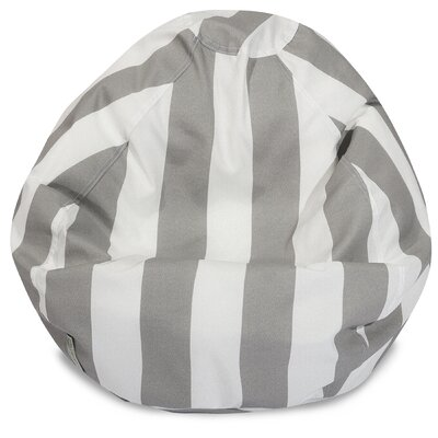 Classic Bean Bag Chair Color: Gray