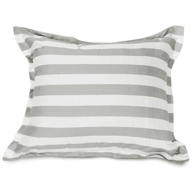 Mufeeda Indoor/Outdoor Floor Pillow Color: Gray