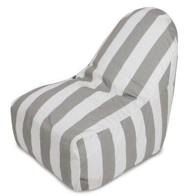 Brino Bean Bag Chair Color: Gray