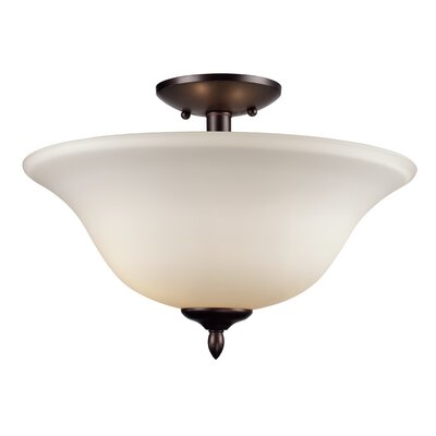 Bloomington 2-Light Semi Flush Mount