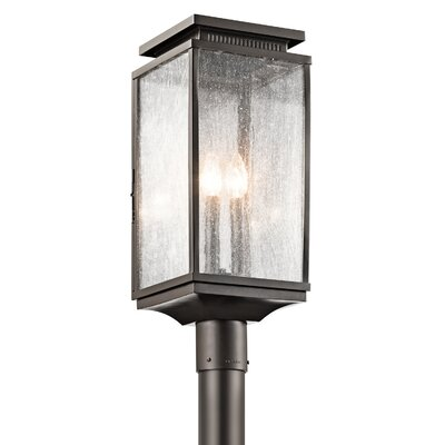 Three Posts Billingham Outdoor 3 Light Lantern Head