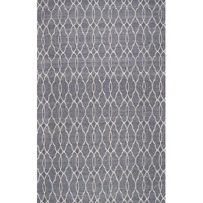 Bolindale Gray Area Rug Rug Size: 76 x 96