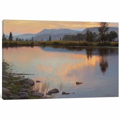 Tranquil Evening Painting Print on Wrapped Canvas