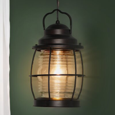 Blackburn 1-Light Outdoor Hanging Lantern