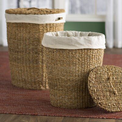 Wicker Laundry Set