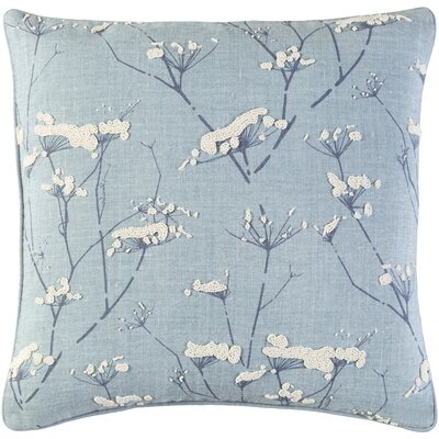 Countryside Linen Pillow Cover Size: 22 H x 22 W x 1 D, Color: Gray