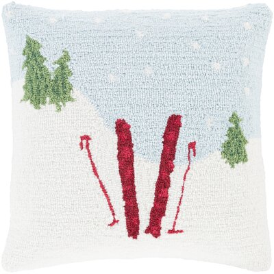 Three Posts Broadcommon Winter Throw Pillow
