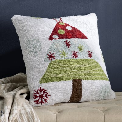 Malta Christmas Tree Throw Pillow