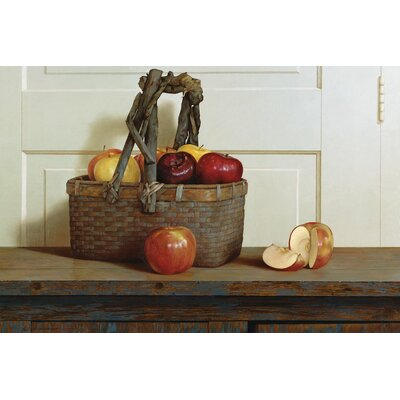 Still Life With Apples Photographic Print on Wrapped Canvas