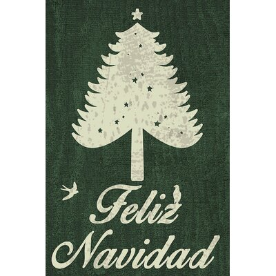Navidad Graphic Art on Wrapped Canvas