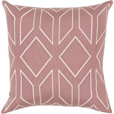 Ganley 100% Linen Throw Pillow Cover Size: 18