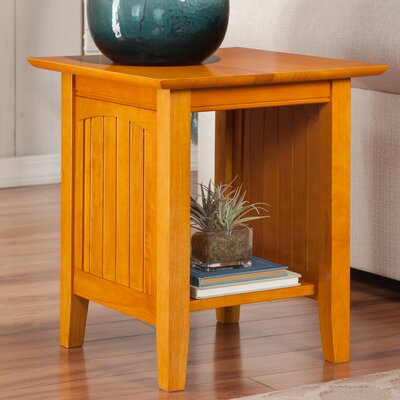 Orangetown End Table Color: Caramel Latte