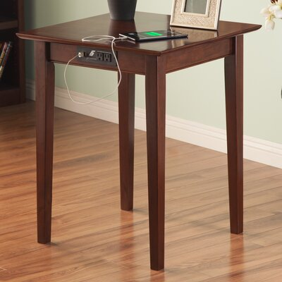 Dunkirk End Table Color: Antique Walnut