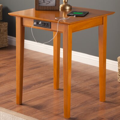 Dunkirk End Table Color: Caramel Latte