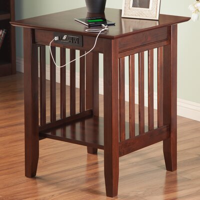 Livonia End Table Color: Antique Walnut