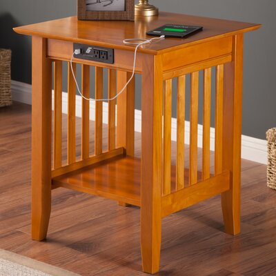 Livonia End Table Color: Caramel Latte