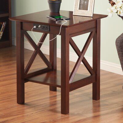 Grosvenor End Table Color: Antique Walnut