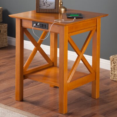 Grosvenor End Table Finish: Caramel Latte