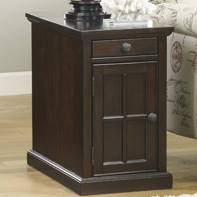 Suffield End Table With Storage
