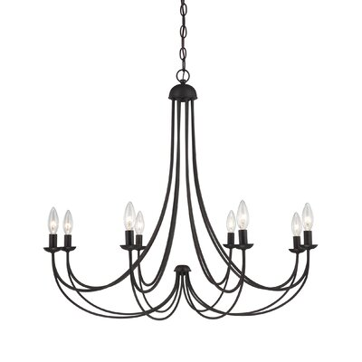 Buckland 8-Light Candle-Style Chandelier