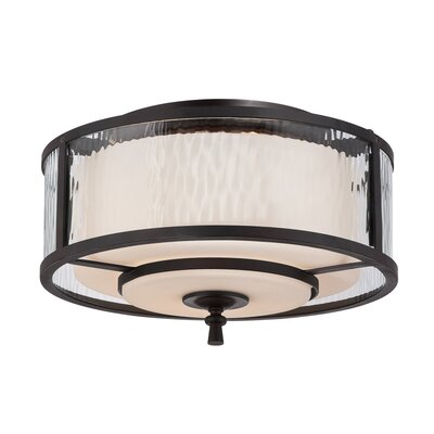 Bordelon 2-Light Flush Mount