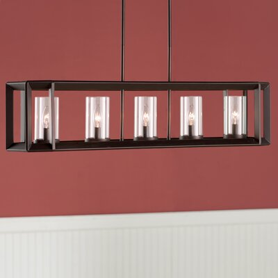 Burbage 5-Light Kitchen Island Pendant