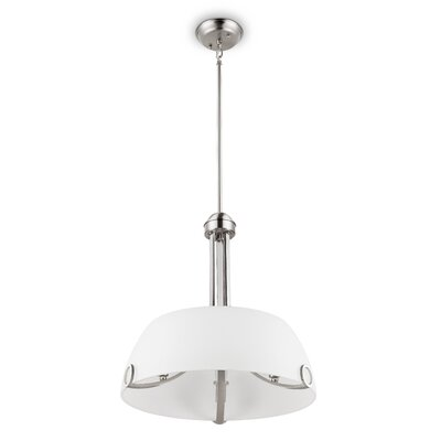 Gracehill Traditional 3-Light Inverted Pendant