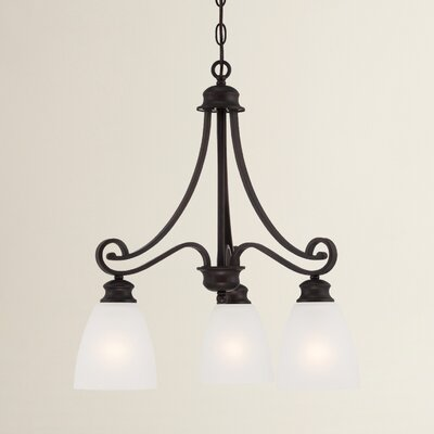 Elinor 3-Light Kitchen Island Pendant Color: Espresso