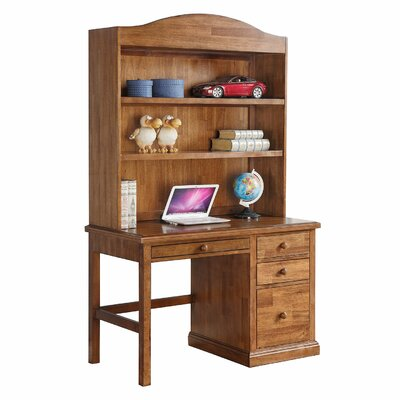 Courtdale 46 H x 45.5 W Desk Hutch Finish: Acacia