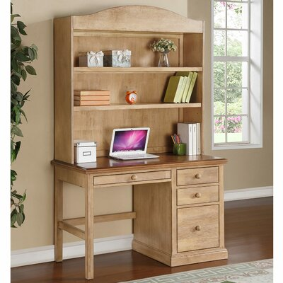 Courtdale 46 H x 45.5 W Desk Hutch Finish: Wheat
