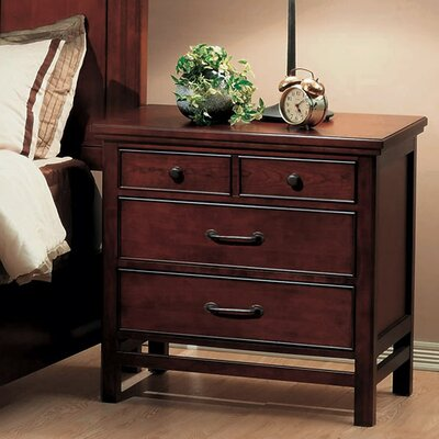 Boonville 3 Drawer Nightstand
