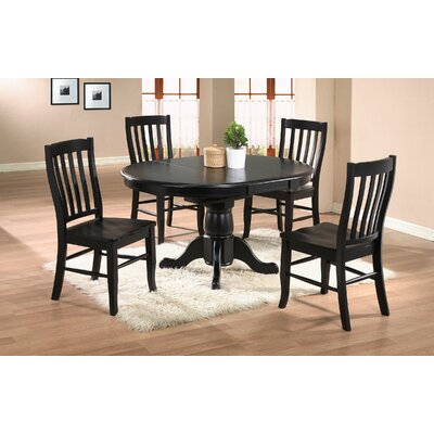 Courtdale Dining Table Finish: Ebony