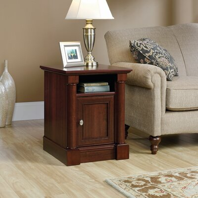 Henley End Table With Storage� Color: Select Cherry