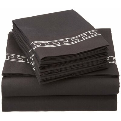 Sheatown 6 Piece Microfiber Sheet Set