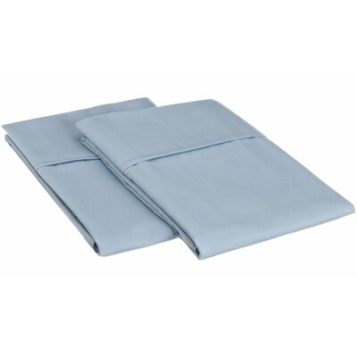 Sheatown Microfiber Solid Pillowcase Pair Size: Standard, Color: Light Blue