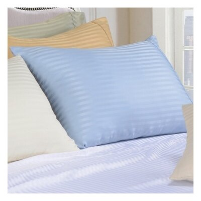 Sheatown Microfiber Stripe Pillowcase Size: Standard, Color: Light Blue