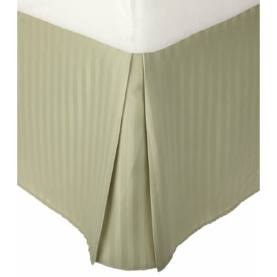 Superior Bed Skirt Size: Queen, Color: Sage