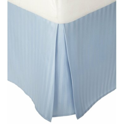 Patric Bed Skirt Size: Twin XL, Color: Light Blue